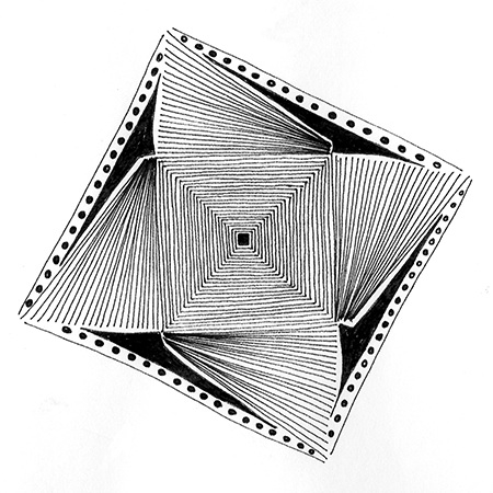 Cheryl Malone, drawings, ink on paper